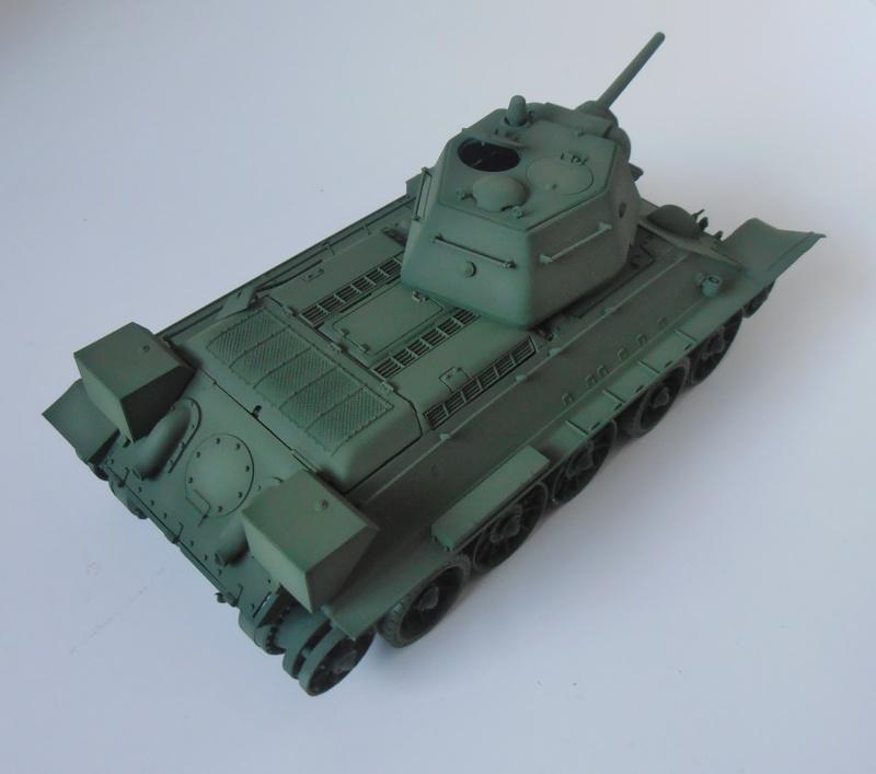 "T-34 "" K.O "" ( Tamiya, Dragon au 1/35eme ). - Page 2 Pb260913"