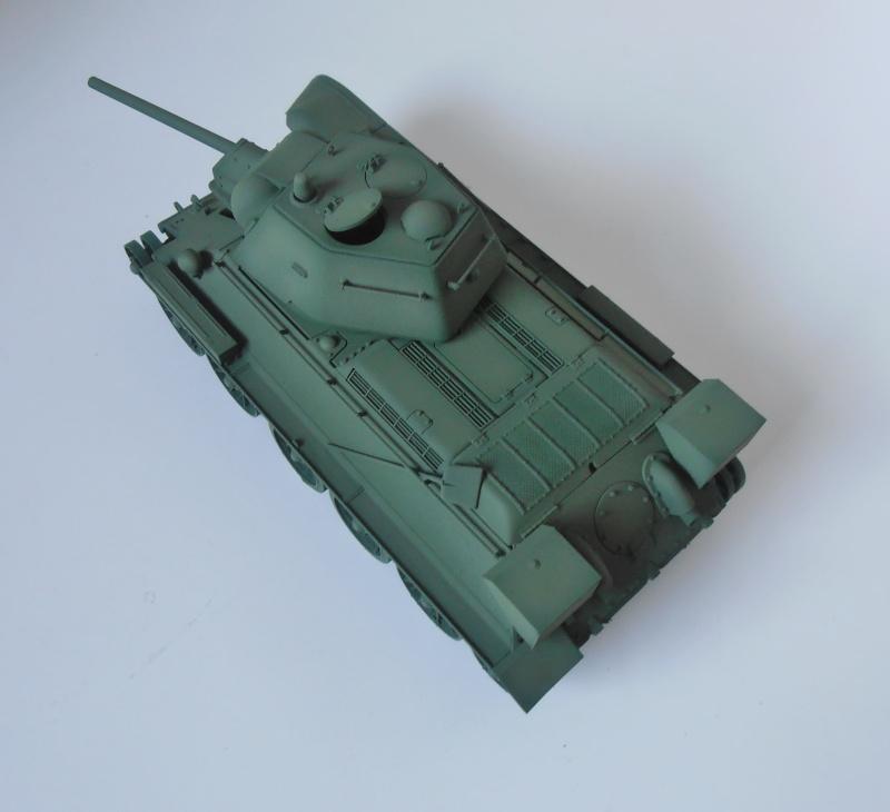 "T-34 "" K.O "" ( Tamiya, Dragon au 1/35eme ). - Page 2 Pb260914"
