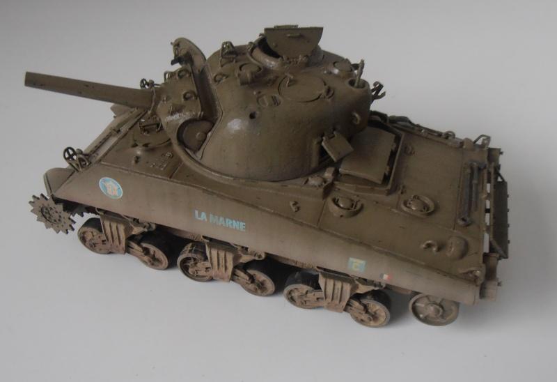 "Sherman M4 105mm "" La Marne "" ( Tamiya et conversion ? au 1/35eme ) - Page 2 Pb280911"