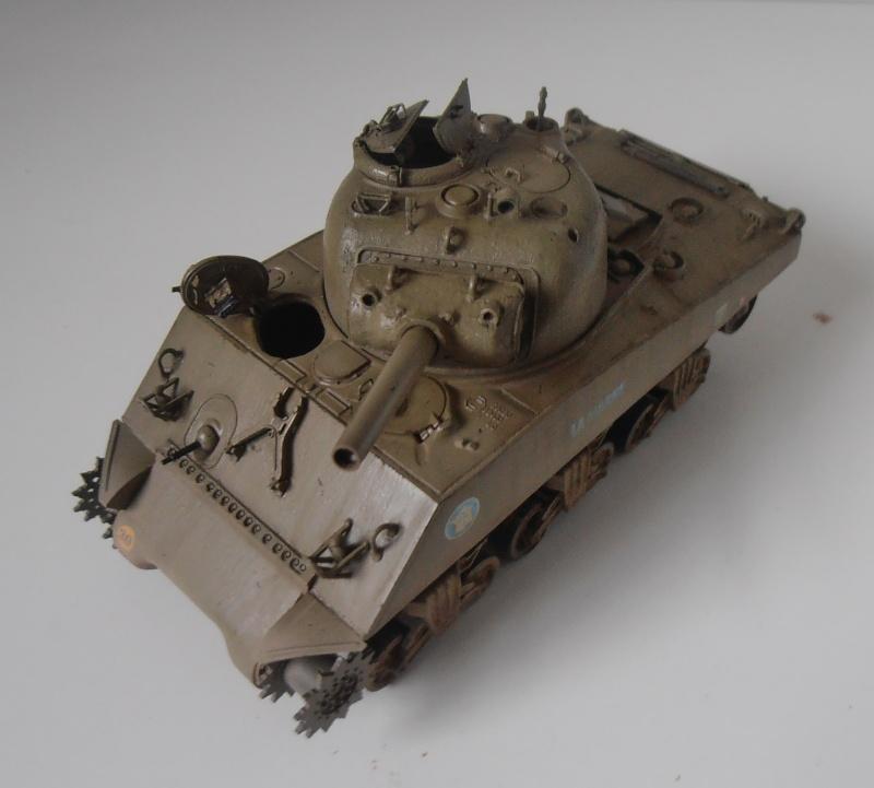 "Sherman M4 105mm "" La Marne "" ( Tamiya et conversion ? au 1/35eme ) - Page 2 Pb280914"