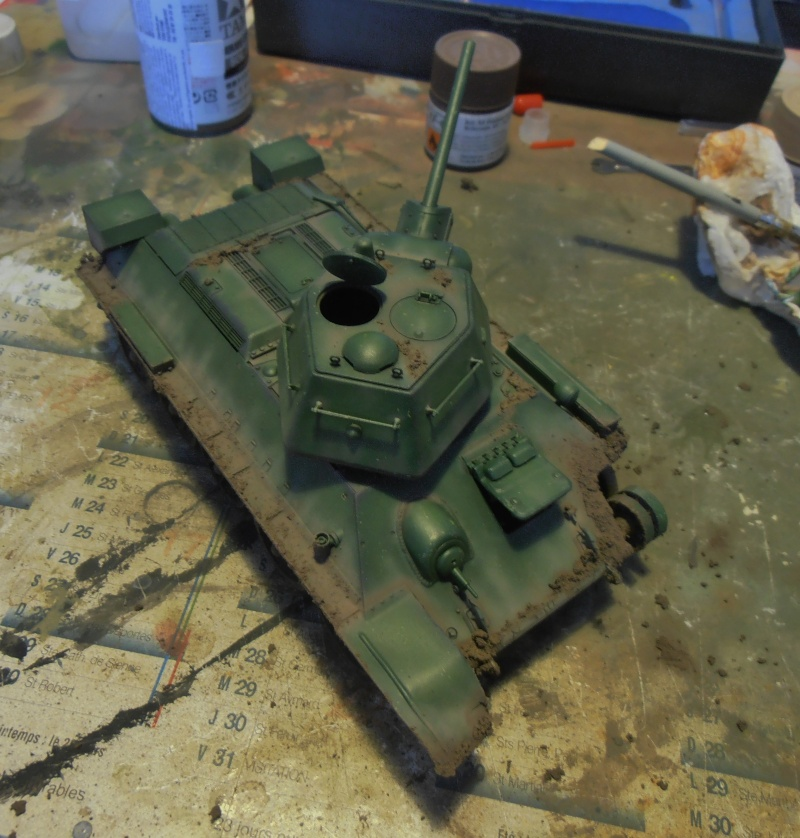 "T-34 "" K.O "" ( Tamiya, Dragon au 1/35eme ). - Page 2 Pb291017"