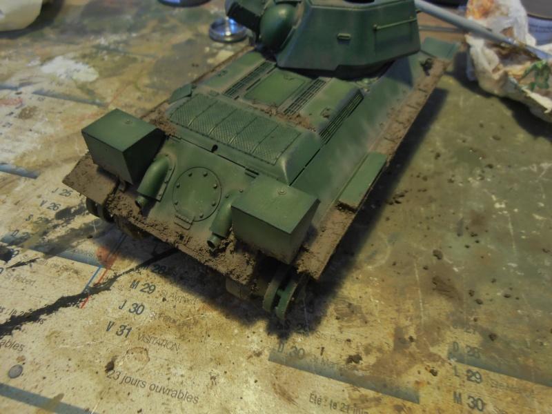 "T-34 "" K.O "" ( Tamiya, Dragon au 1/35eme ). - Page 2 Pb291020"