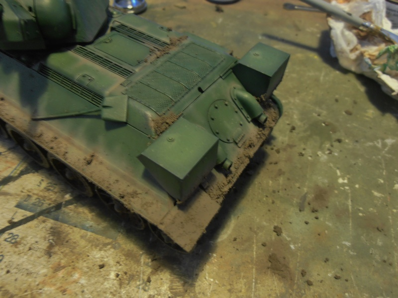 "T-34 "" K.O "" ( Tamiya, Dragon au 1/35eme ). - Page 2 Pb291022"