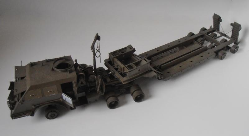 M26 Dragon wagon Tamiya et barge Italeri au 1/35eme Pb301019