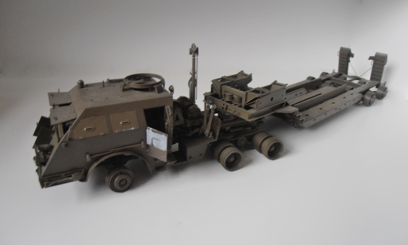 M26 Dragon wagon Tamiya et barge Italeri au 1/35eme Pb301020