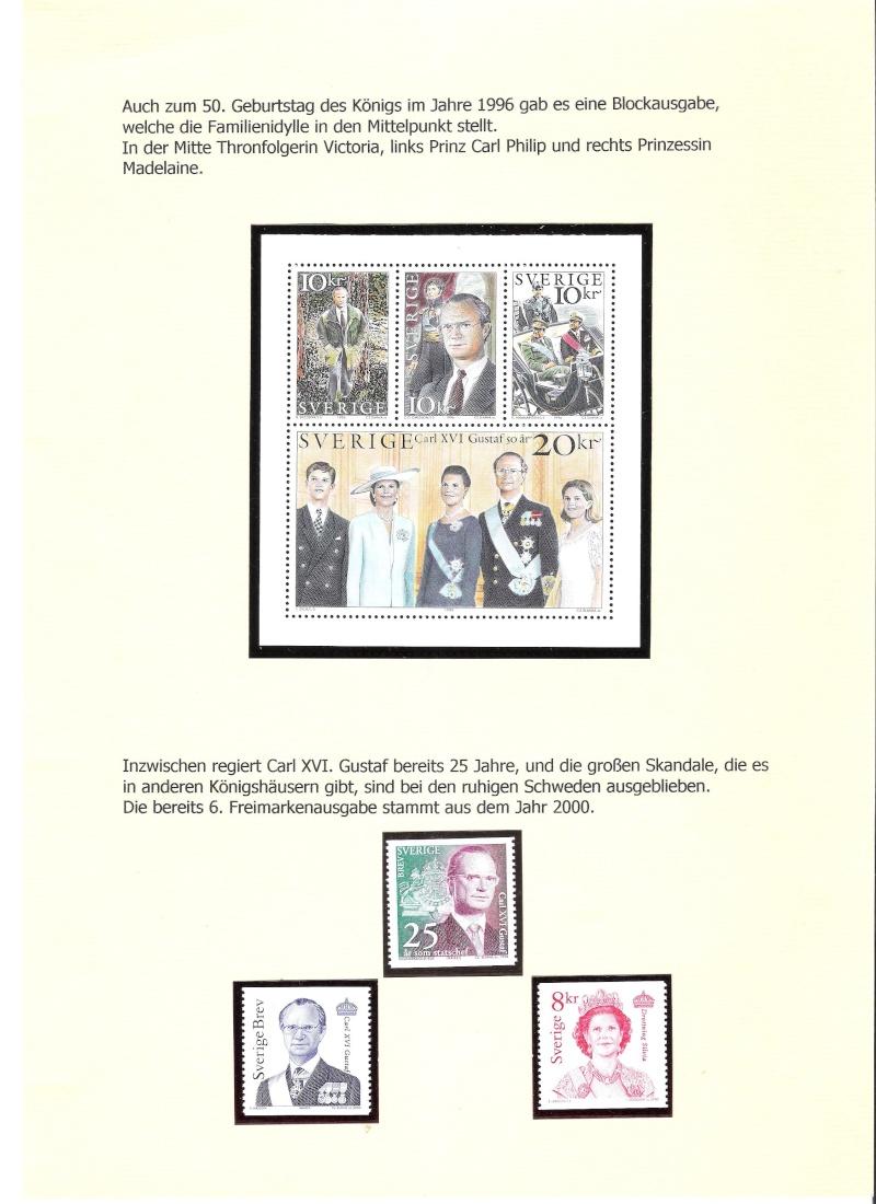 Nordische Königshäuser im Spiegel der Briefmarke 00118