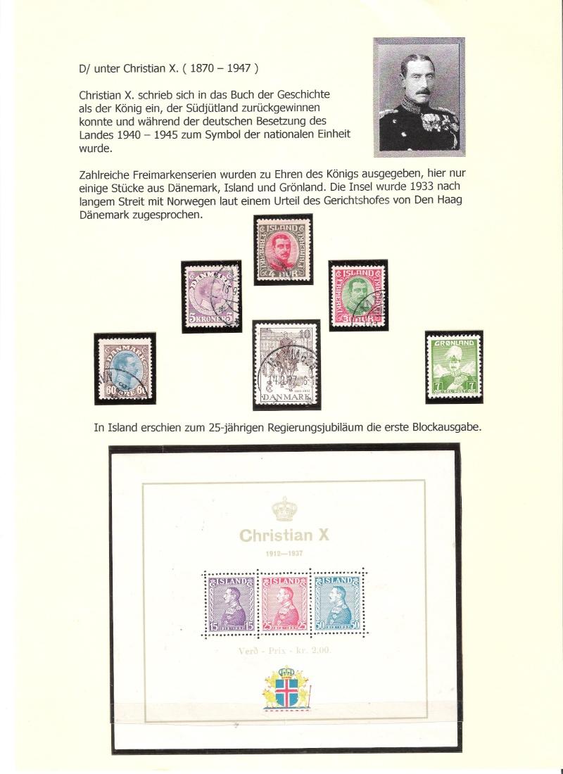Nordische Königshäuser im Spiegel der Briefmarke 00218