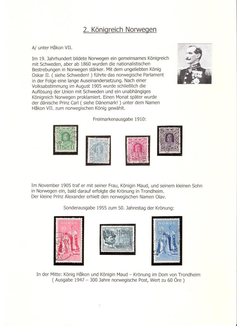 Nordische Königshäuser im Spiegel der Briefmarke 00616