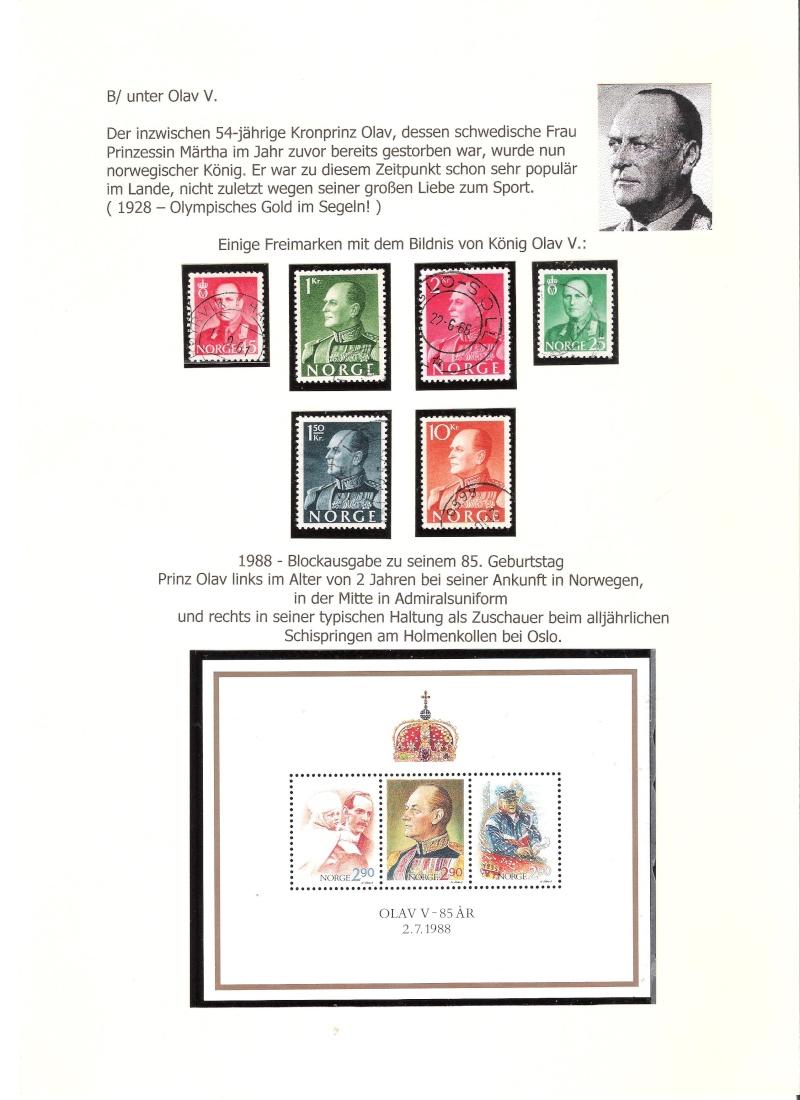 Nordische Königshäuser im Spiegel der Briefmarke 00815