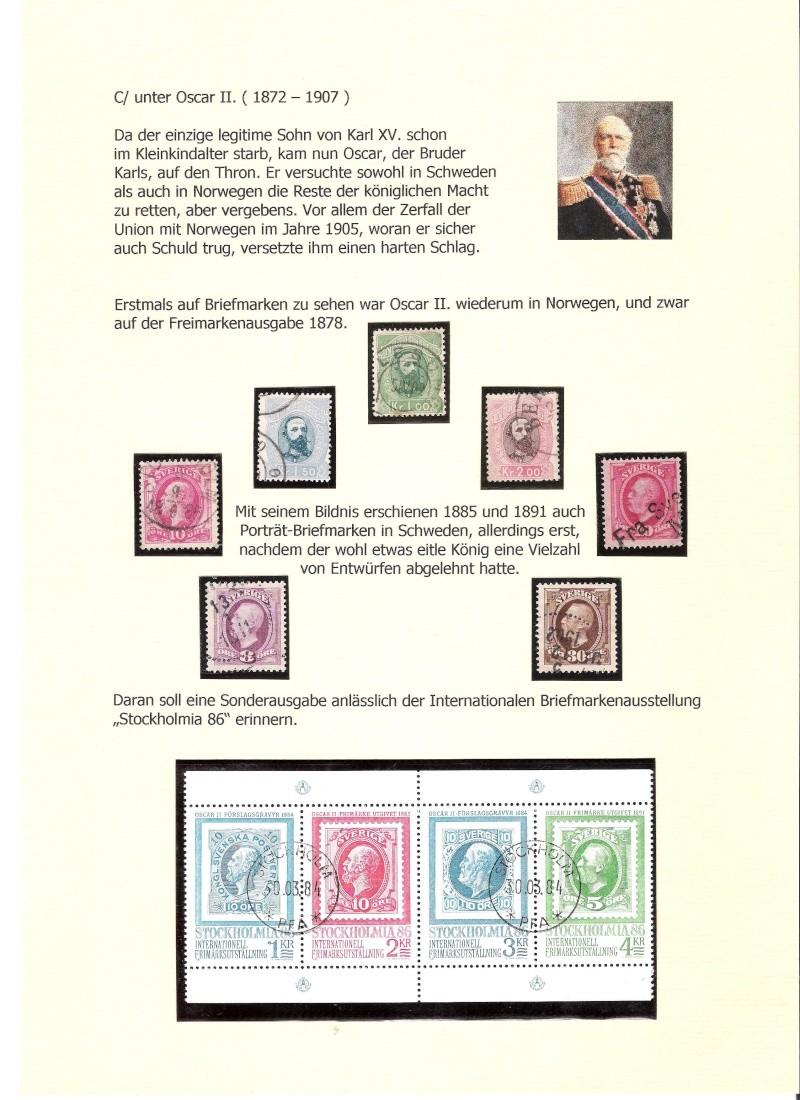 Nordische Königshäuser im Spiegel der Briefmarke 01114