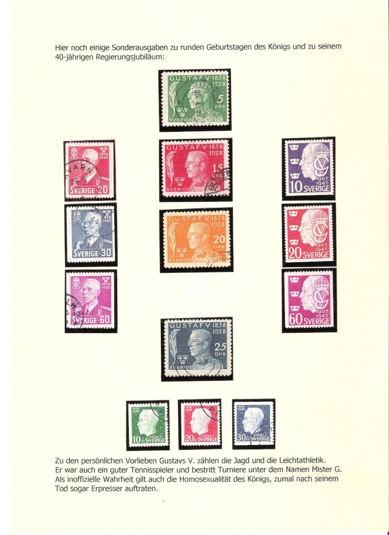 Nordische Königshäuser im Spiegel der Briefmarke 01312