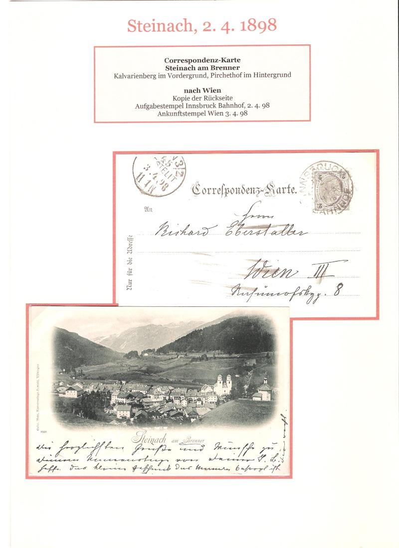 Alte Ansichten von Steinach - Mein Heimatort ganz nostalgisch 01410