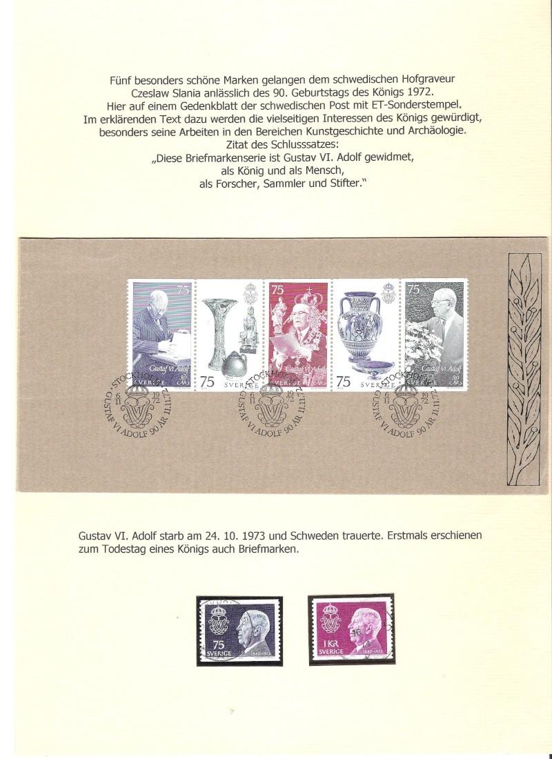 Nordische Königshäuser im Spiegel der Briefmarke 01611