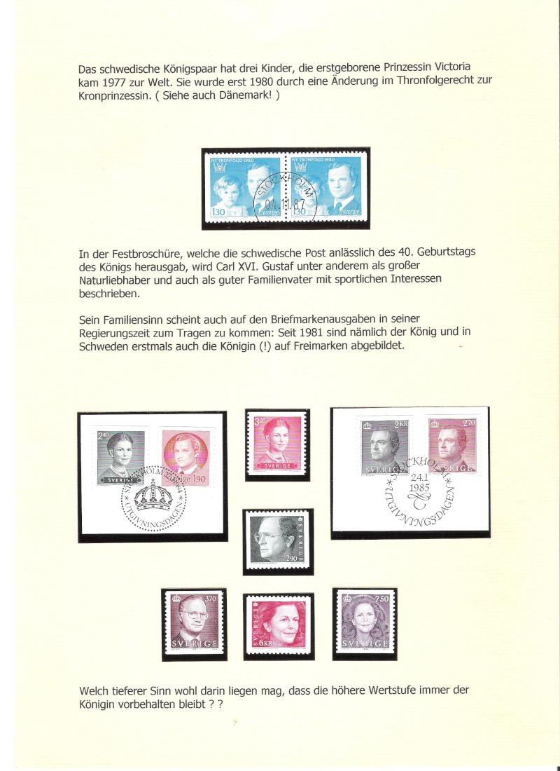 Nordische Königshäuser im Spiegel der Briefmarke 01911