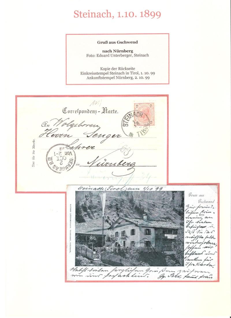 Alte Ansichten von Steinach - Mein Heimatort ganz nostalgisch 02610