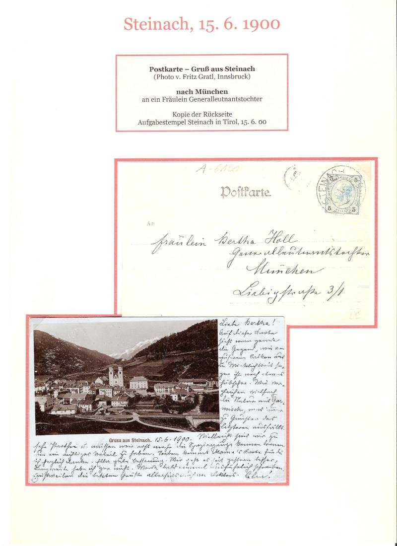 Alte Ansichten von Steinach - Mein Heimatort ganz nostalgisch 02910