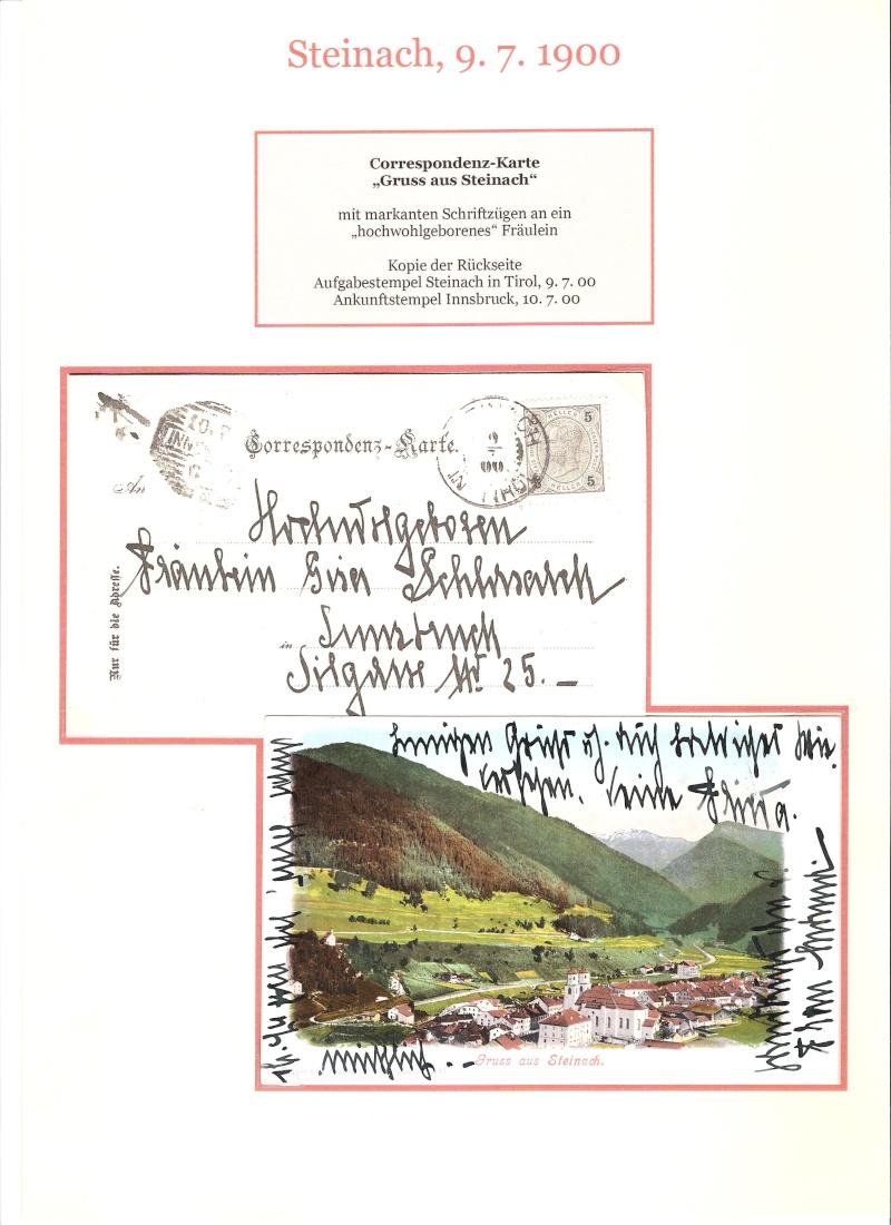 Alte Ansichten von Steinach - Mein Heimatort ganz nostalgisch 03010