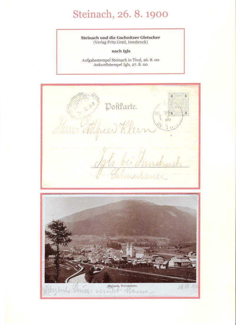 Alte Ansichten von Steinach - Mein Heimatort ganz nostalgisch 03110