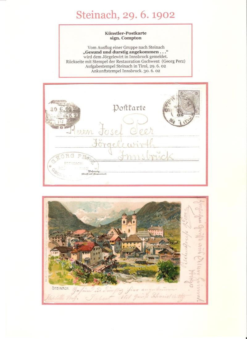 Alte Ansichten von Steinach - Mein Heimatort ganz nostalgisch 03510