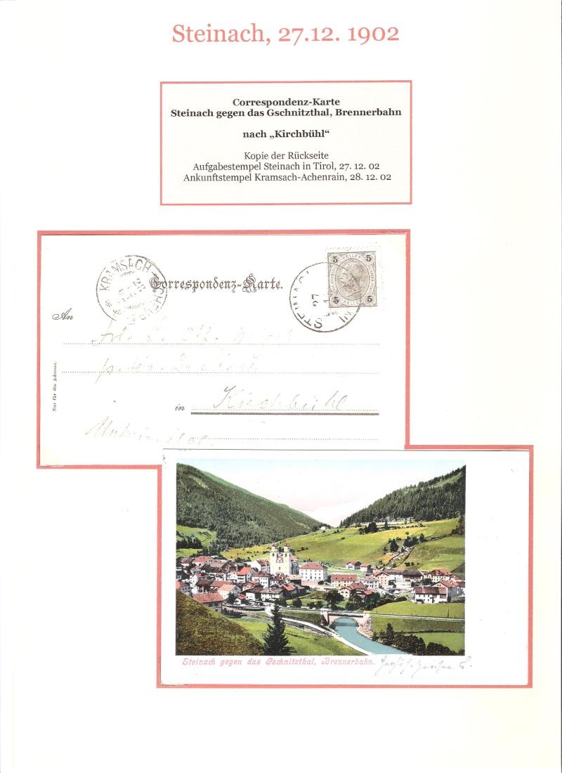 Alte Ansichten von Steinach - Mein Heimatort ganz nostalgisch 03810