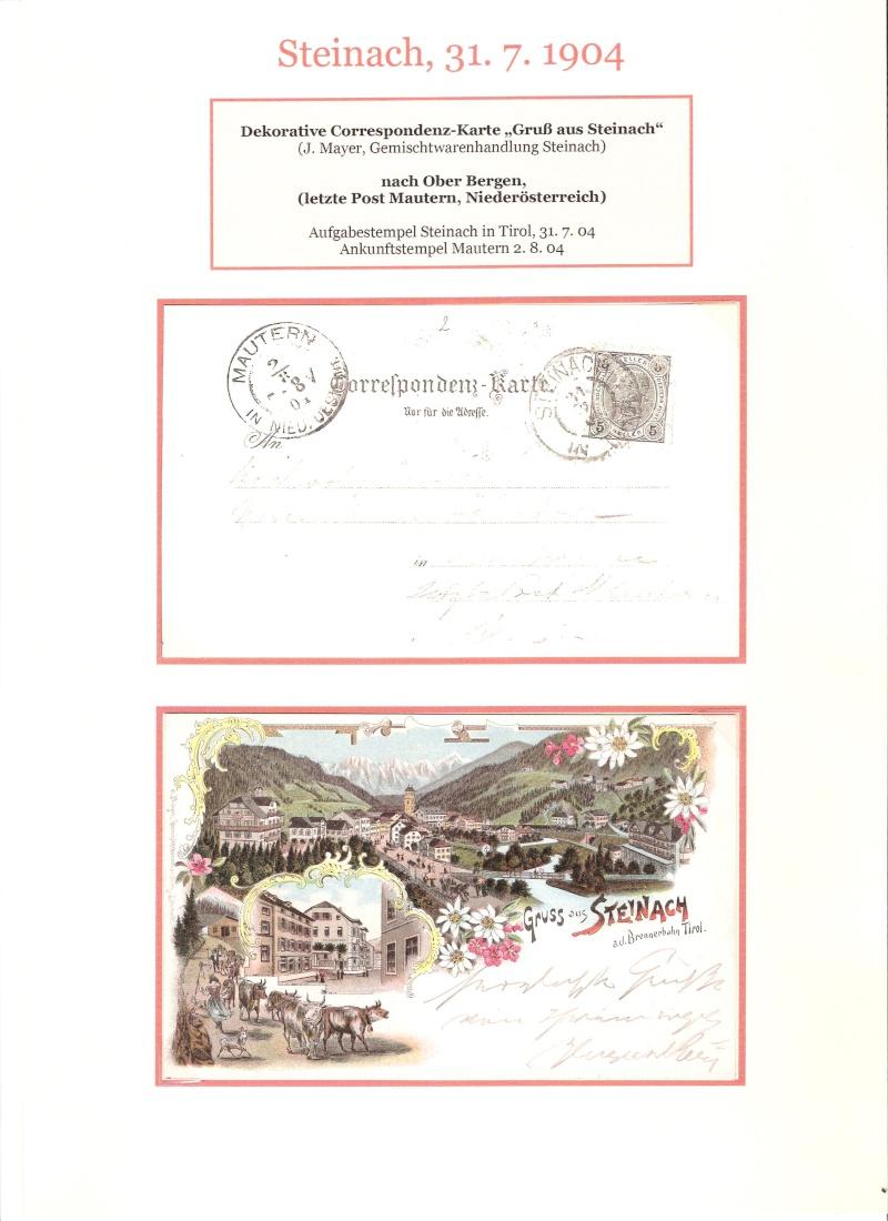 Alte Ansichten von Steinach - Mein Heimatort ganz nostalgisch 04010