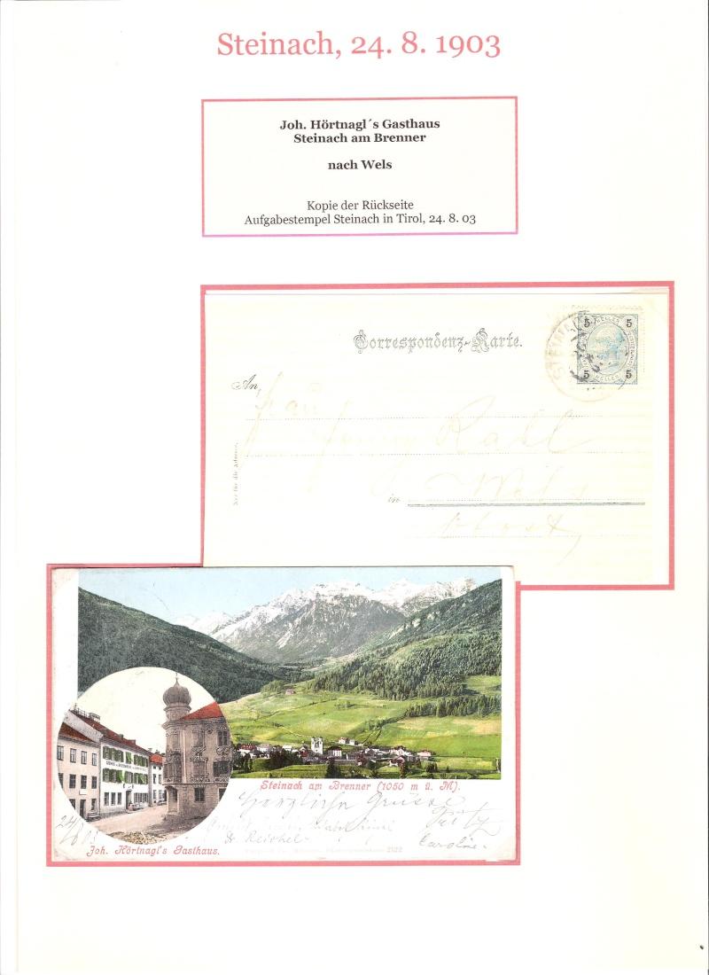 Alte Ansichten von Steinach - Mein Heimatort ganz nostalgisch 04110