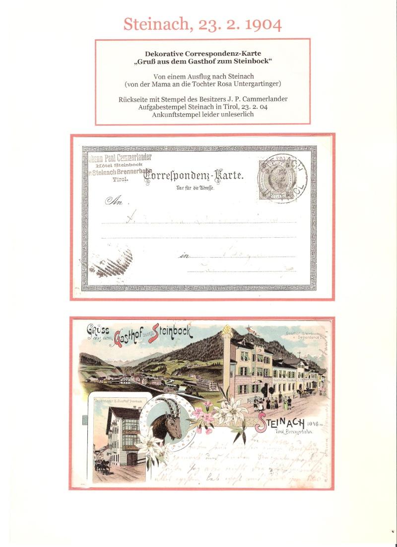 Alte Ansichten von Steinach - Mein Heimatort ganz nostalgisch 04210