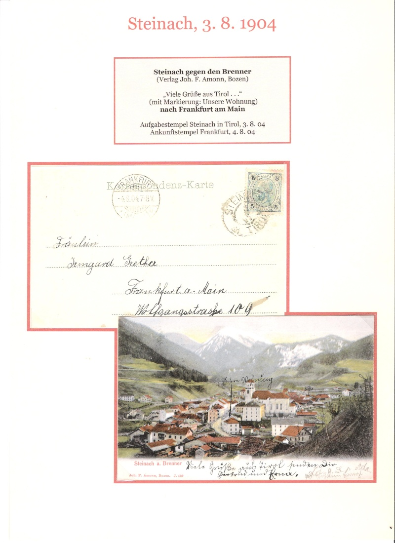 Alte Ansichten von Steinach - Mein Heimatort ganz nostalgisch 04310