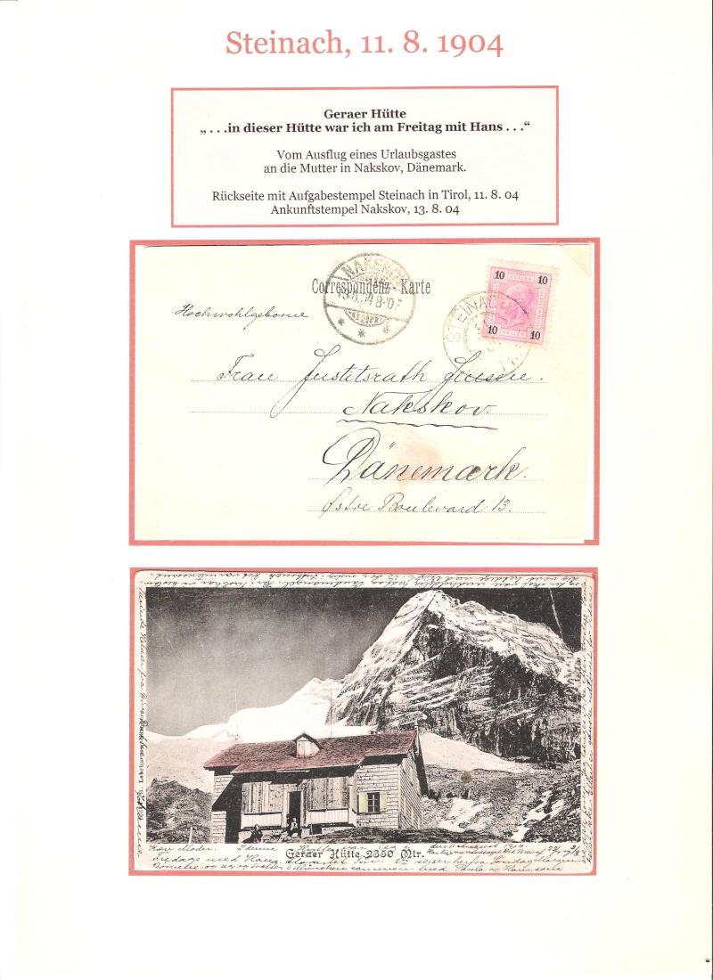 Alte Ansichten von Steinach - Mein Heimatort ganz nostalgisch 04410