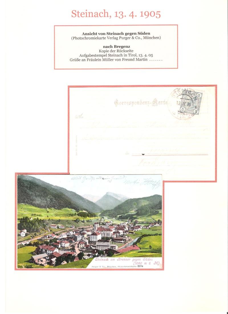 Alte Ansichten von Steinach - Mein Heimatort ganz nostalgisch 04810