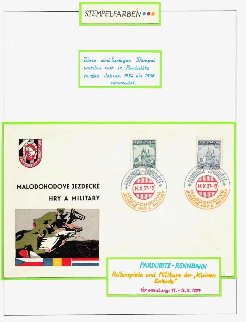 Manche mögen´s bunt - Sonderstempel der Tschechoslowakei Bunt1010