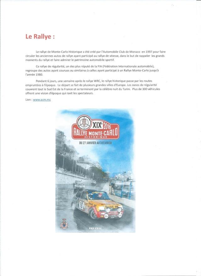 Rallye Monte Carlo Historique 2016 - Benoît/Stéphane 00215