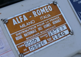 Alfa Romeo Spider 2000 Touring 23274410