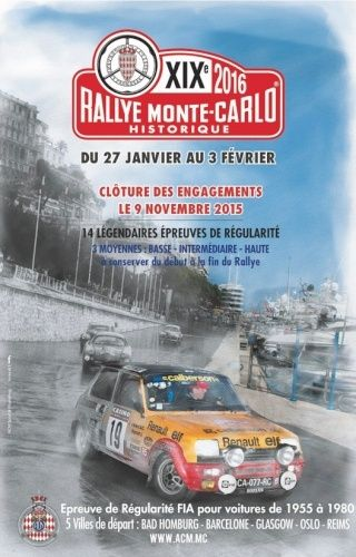 Rallye Monte Carlo Historique 2016 - Benoît/Stéphane Captur12