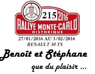 Rallye Monte Carlo Historique 2016 - Benoît/Stéphane - Page 10 Rmch_211