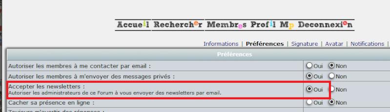 [Tutoriel] Newsletters - Activation et réception Newsle11