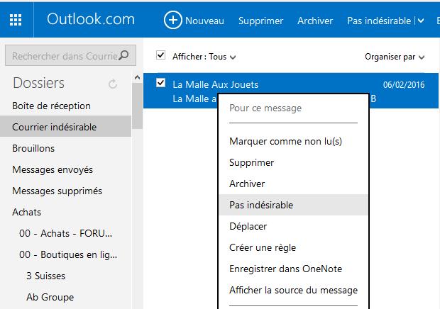 [Tutoriel] Newsletters - Activation et réception Spam10