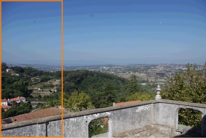 Un disque photographier au-dessus de Sintra au Portugal Sans_t10