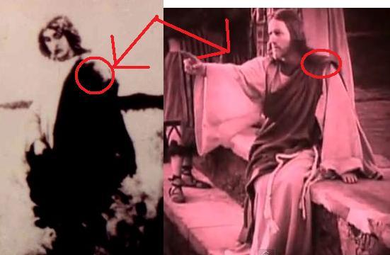 On aurait photographié Jésus. Sans_t23