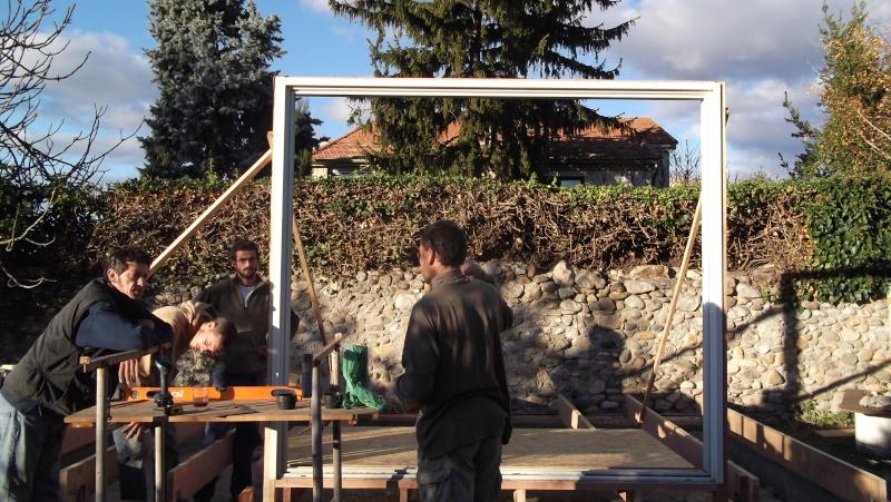 Ossature bois pour toit à une pente Dscf0110
