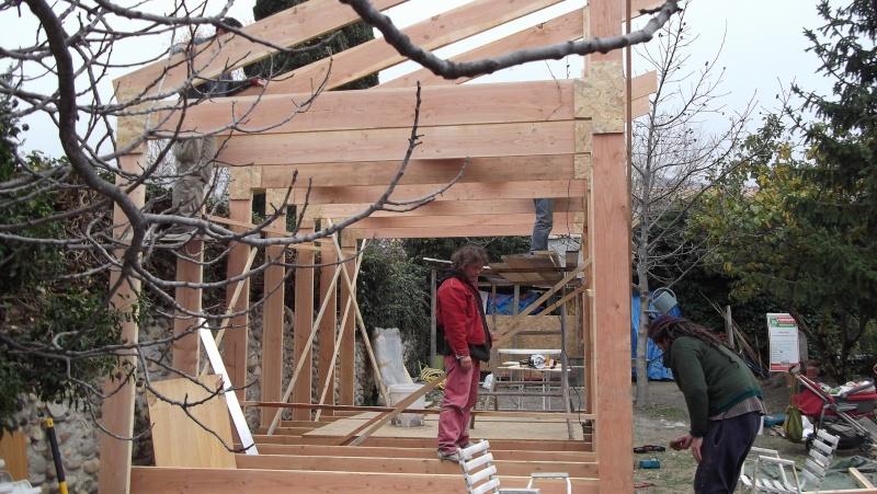 Ossature bois pour toit à une pente Dscf0210