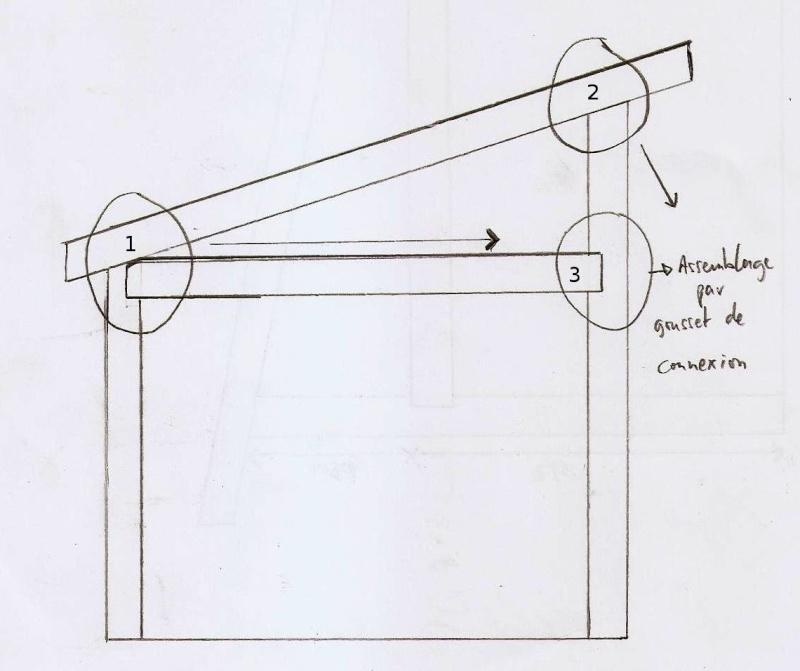 Ossature bois pour toit à une pente Schama12