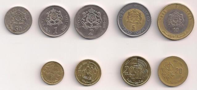 Les Timbres, Monnaies et Pièces du Maroc Piece_13