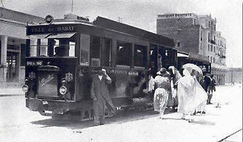 Transports CFM, Gares et Affiches du Maroc Tramwa15