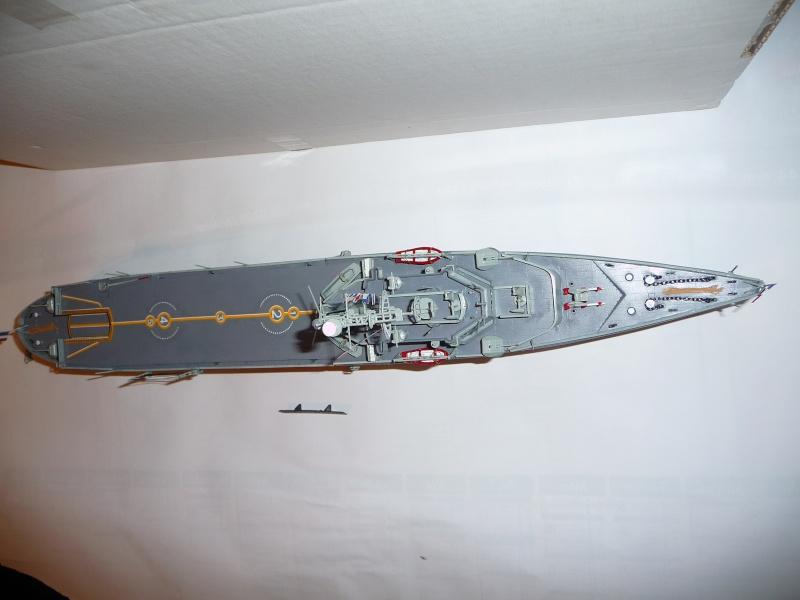La JEANNE D'ARC par Kitou au 1/400è heller P1010429