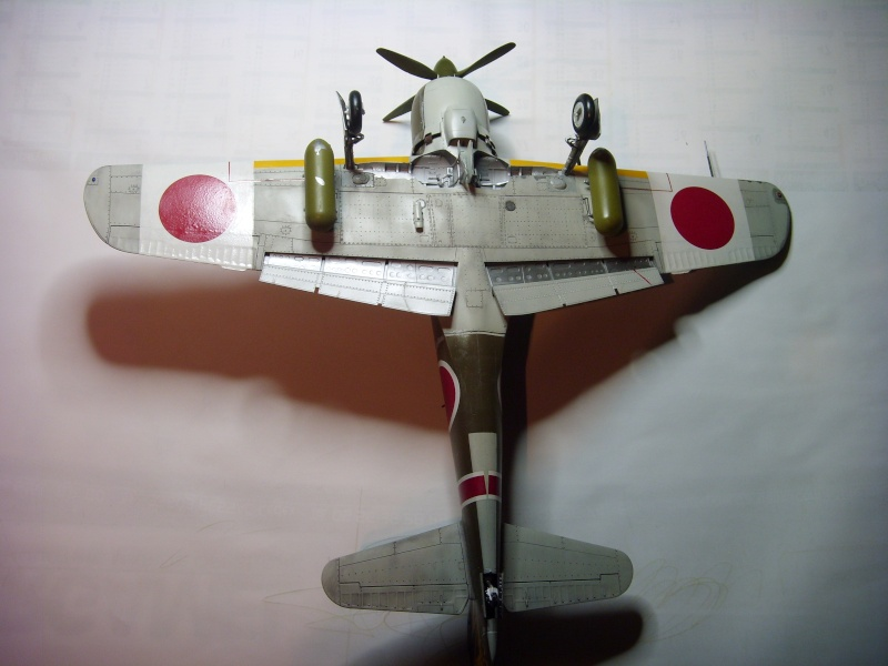 ki-84 hayate 1/32eme hasegawa St835932