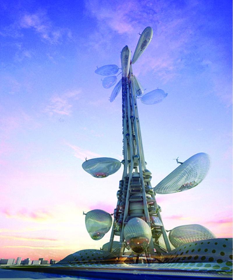 الشجرة التكنولوجية في تايوان: ناطحة سحاب مدهشة لم تشاهدوا مثلها من قبل! 1110
