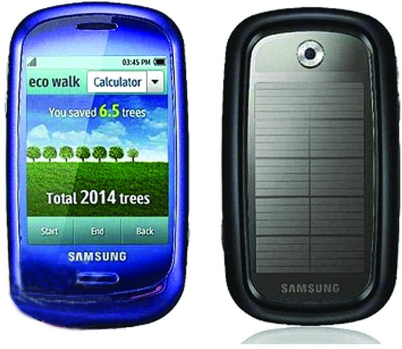 أول هاتف يعمل بالطاقة الشمسية من سامسونج 1111