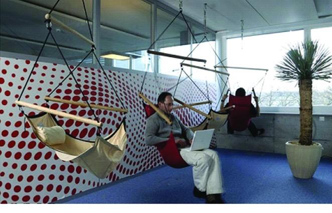 كيف تبدو الحياة داخل مَقرات شركة جوجل؟ 1510