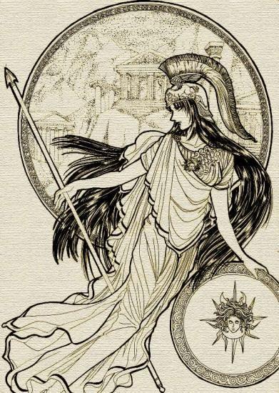 Personnes célèbres réelles ou imaginaires - Page 5 Athena10